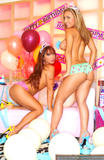 Кристин Мендоза, фото 192. Christine Mendoza & Pam Rodriguez-B'day Girls, foto 192
