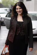 Nigella Lawson leaves the ITV studio in London 9/29/10