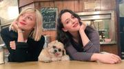 Beth Behrs and Kat Dennings x3 recent pics