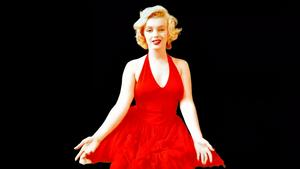 Marilyn Monroe Lady In Red Wallpaper