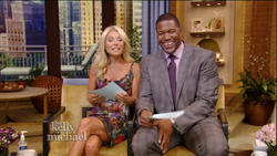 Claire Danes on Live with Kelly and Michael 9/4/2012