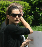 Sandra Bullock - funeral of Jack Valenti in Washington, DC, may 1