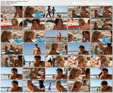 Elisabeth Harnois - bikini scenes from Point Pleasant  - 2 clips