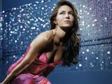 Vanessa Marcil Pink Dress Photoshoot Showing Some Cleavage