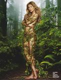 Gisele Bundchen - Nude Body Paint Pictures - Photo Magazine Pictures